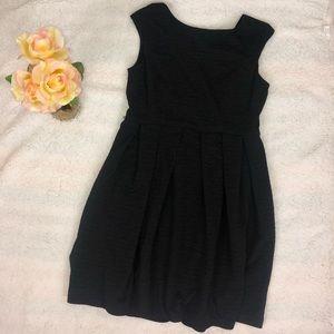 Sandra Darren Black Dress Sz 12
